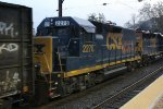 CSX 2278 trailing on Q301